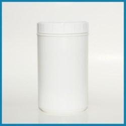 80 oz HDPE Jar, Round, 120mm, ,