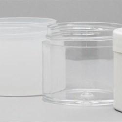 2 oz SAN Jar, Round, 53-400,