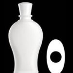 350 ml HDPE Reverse Tapered, Oval, 24-415, Round Shoulder ,