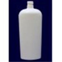 20 oz HDPE Reverse Tapered, Oval, 28-410, Shrink Sleeve Label