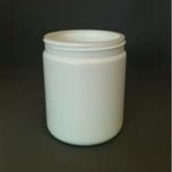 565 cc HDPE Jar, Round, 89-400,