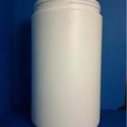 46 oz HDPE Anti-Stat Resin Jar, Round, 100-400, ,