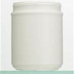 60 oz HDPE Jar, Round, 120, ,