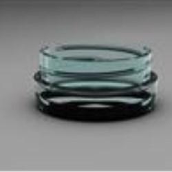15 ml PETG Jar, Round, 48-400, Straight Sided