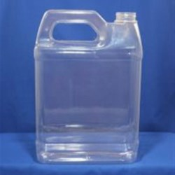 1 gal PVC Handleware, Oblong, 38-400, Heavy Gram