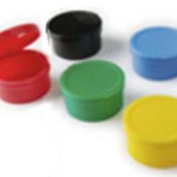 1 oz HDPE Jar, Round, ,