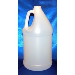 1 gal HDPE Handleware, Round, 38-400Special H, Label Indent ,