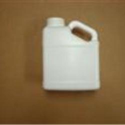 128 oz HDPE Handleware, Oblong, 63-485, Slant Handle