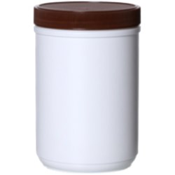 40 oz HDPE Jar, Round, 100-410Special, ,