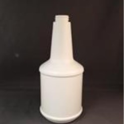 24 oz HDPE Long Neck, Round, 28-400Special, Label Indent ,
