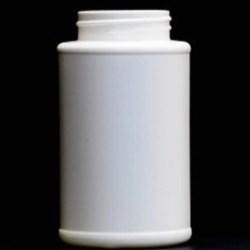 8 oz HDPE Cylinder, Round, 45-405, ,