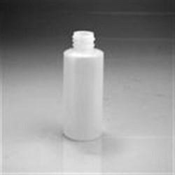 2 oz HDPE Cylinder, Round, 24-410,