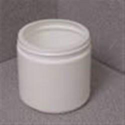 16 oz HDPE Jar, Round, 89-400, ,