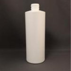 16 oz HDPE Cylinder, Round, 28-410, Straight Sided ,