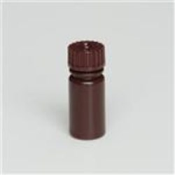 3.4 ml HDPE Cylinder, Round, 13-415, Non-Sterile ,