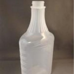 32 oz P/P Carafe/Decanter, Oval, 33-453, Fluted Ribbed ,