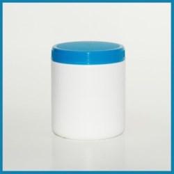 20 oz HDPE Jar, Round, 89-400, ,