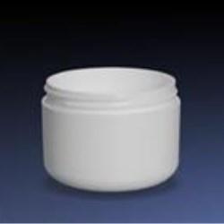 8 oz P/S Outer P/P Inner Jar, Round, 89-400, Round Base