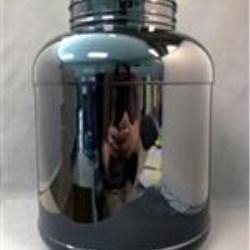 1.8 gal PET Jar, Round, 120-400, ,