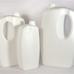 32 oz HDPE Asymmetrical, Oblong, 28-400, Offset Neck