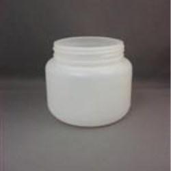850 cc HDPE Jar, Round, 100-400, Straight Sided