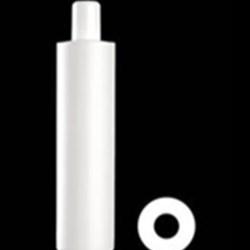 400 ml HDPE Cylinder Round, 24-415, ,