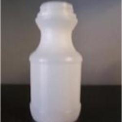 8 oz HDPE Carafe/Decanter Round, 38, Sloped Shoulder ,