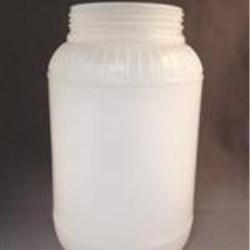 133.7 oz HDPE Jar, Round, 110-400, Label Indent