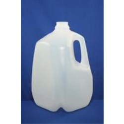 128 oz HDPE Handleware, Square, 38-400SCII, Light Weight ,
