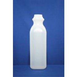32 oz HDPE Pinch, Square, 38-400SCII, Tall Light Weight ,