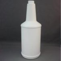 32 oz HDPE Long Neck, Round, 28-400, Label Indent