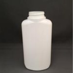 8 oz HDPE Straight Sided, Oval, 33-400,