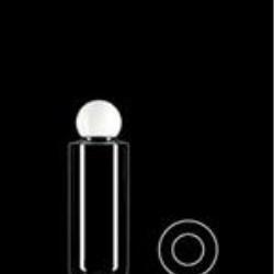 150 ml PVC Cylinder Round, 24-415, ,