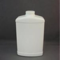 32 oz HDPE Straight Sided, Oblong, 38-400, Label Indent ,
