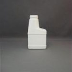 4 oz HDPE Sprayer, Oblong, 28-400, Offset Neck Label Indent