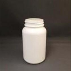 8 oz HDPE Jar, Round, 48-400,