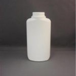 16 oz HDPE Straight Sided, Oval, 45-400,