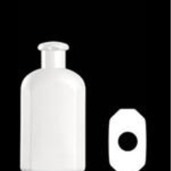 250 ml HDPE Straight Sided Hexagon, 24-410, ,