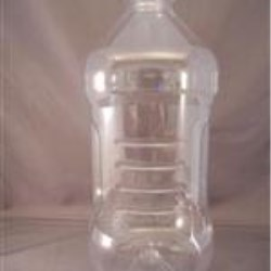 3 ltr PET Straight Sided, Oblong, 32mm, Ribbed/Fluted Grip ,