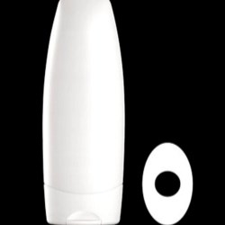 250 ml HDPE Tottle/Tube Bottle Oval, 25mm Snap On, ,