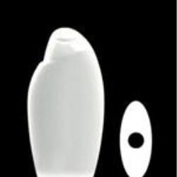 250 ml HDPE Asymmetrical Oval, 21mm Snap On, ,