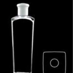 400 ml PVC Reverse Tapered Square, 24-415, ,