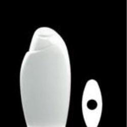 200 ml HDPE Asymmetrical Oval, 21mm Snap On, ,