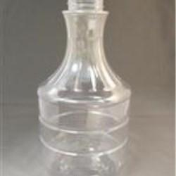 32 oz PET Carafe/Decanter, Round, 38-418, Ribbed