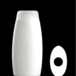 300 ml HDPE Convex Oval, 22mm Snap On, ,