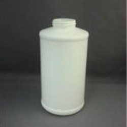 32 oz HDPE Cylinder, Round, 45mm, Label Indent ,