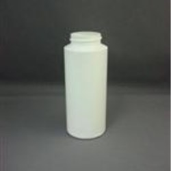 6 oz LDPE Cylinder, Round, 38-400, Straight Sided
