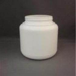 1000 cc HDPE Jar, Round, 89Squeeze Lok, Straight Sided