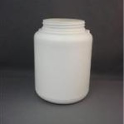 1500 cc HDPE Jar, Round, 89Squeeze Lok, Straight Sided