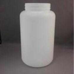 2000 cc HDPE Jar, Round, 89-400, Straight Sided